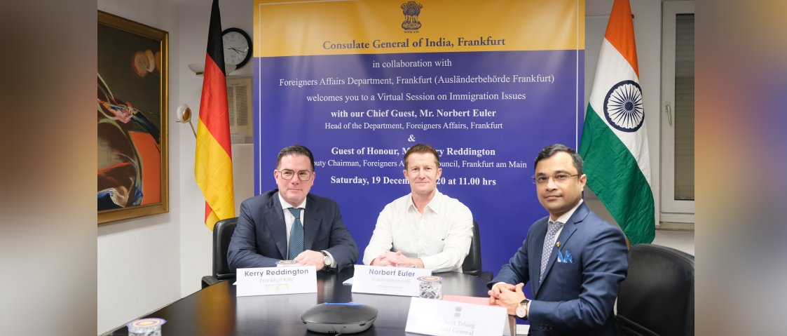 Interactive Session on Immigration Issues with the Department of Foreigners Affairs, Frankfurt