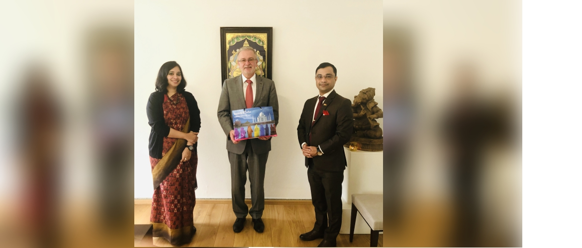 Consul General Dr. Amit Telang met Mr. Michael Gahler, Member of the European Parliament and senior leader from the European Peoples Party on 13 November 2020.