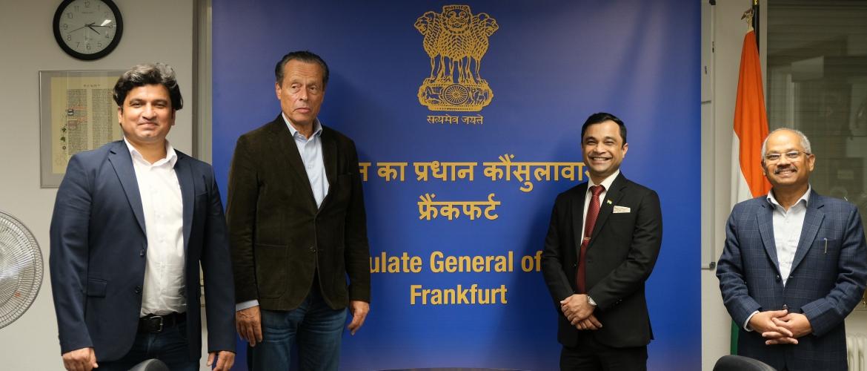 Interaction with Mr. Klaus Klipp, Chairman, Europa Union Frankfurt on 30 September 2020