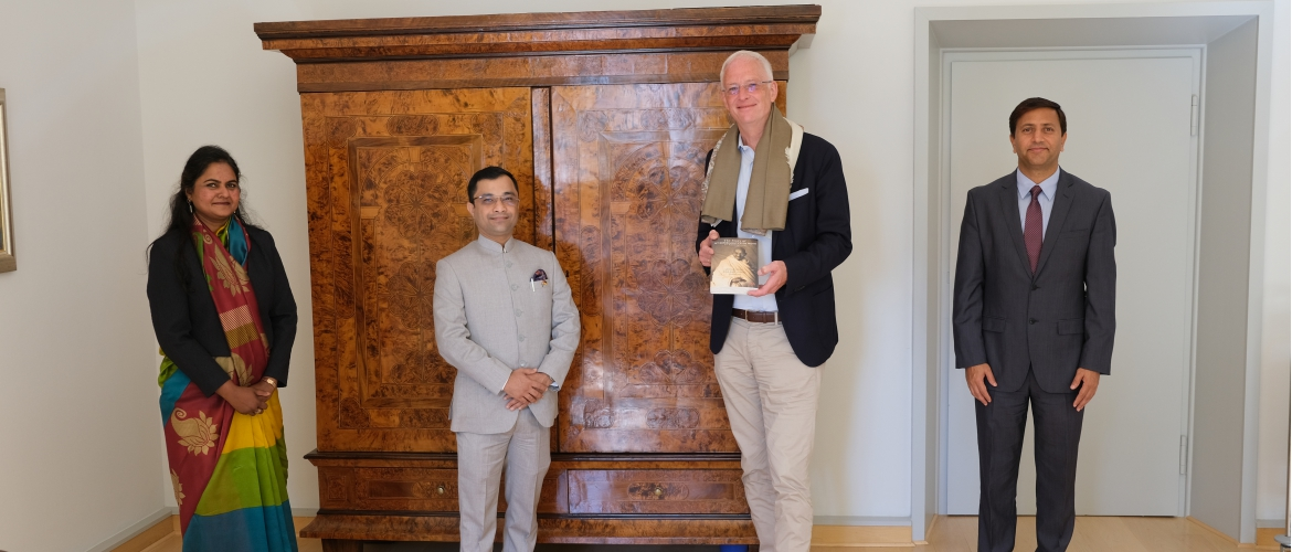 Consul General Dr. Amit Telang called on H.E. Mr. Wolfram Leibe, Lord Mayor of Trier on 21 September 2020